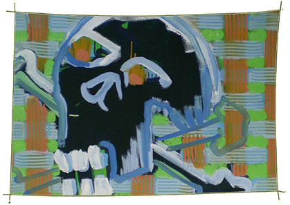 Picture Painting Markus Frings serie skull UN$ 1