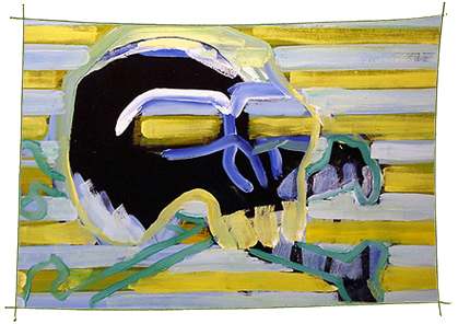 Picture Painting Markus Frings serie skull UN$ 3