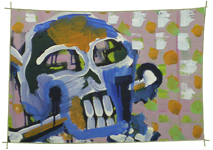Picture Painting Markus Frings serie skull UN$ 5