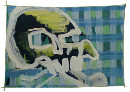Picture Painting Markus Frings serie skull UN$ 8